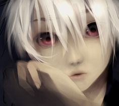 The 95 best beauty images on pinterest cabello de colores anime boy with black hair and red eyes fantastic boys fandeluxe Images