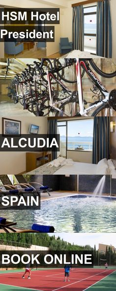 Hotel HSM Hotel President in Alcudia, Spain. For more information, photos, reviews and best prices please follow the link. #Spain #Alcudia #hotel #travel #vacation