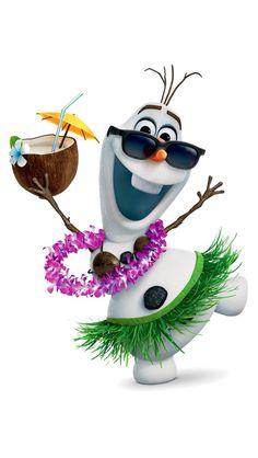 Did Olaf go to Hawaii