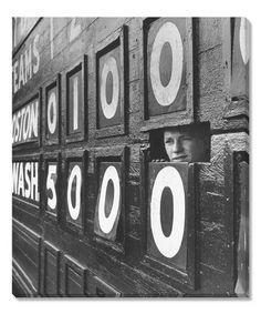 Another great find on #zulily! Scoreboard Peep LIFE Wall Art #zulilyfinds
