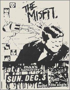Misfits @ Max's Kansas City New York City NY 12-3-78