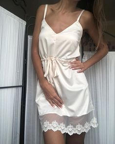 lingerie – Gardening Tips Lingerie Outfits, Lingerie Sleepwear, Nightwear, Elegant Dresses, Casual Dresses, Bridal Undergarments, Recycled Dress, Pajama Outfits, Pyjamas