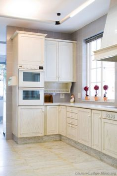 Superbe Traditional Whitewash Kitchen Cabinets #15 (Kitchen Design Ideas.org)
