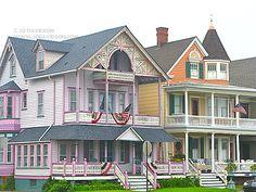 Victorian homes  beach block Ocean Grove