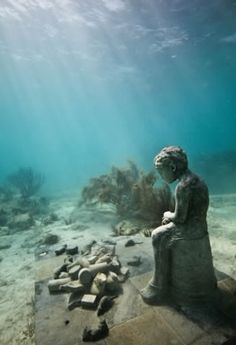 Jason de Caires Taylor's Underwater Sculptures 1