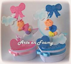 Rva Baby Shower Favors, Baby Shower Themes, Baby Boy Shower, Baby Shower Gifts, Diy Birthday Decorations, Baby Shower Decorations, Foam Crafts, Baby Crafts, Moldes Para Baby Shower