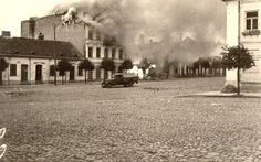 II wojna światowa, pierzeja południowa.