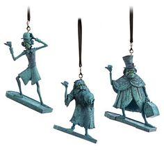 Your WDW Store - Disney Holiday Ornament Set - The Haunted Mansion Hitchhiking Ghosts