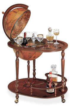 New Globe Bar Liquor Cabinet
