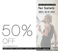 off for all hotels - New Years Offer