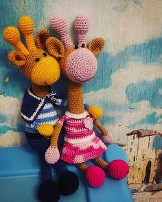 Вяжем вместе  - жирафики | Marmelad_doll Амигуруми - вязаная игрушка | VK