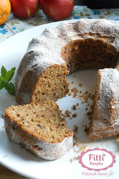 Hungarian Recipes, My Recipes, Banana Bread, Food And Drink, Xmas, Sweets, Cookies, Healthy, Breads