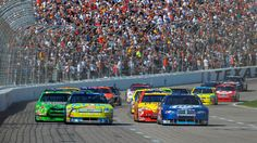 Nascar Sprint Cup Series at Texas Motor Speedway.