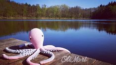 Octopus XXL Crochet pattern OliMori Amigurumi Ośmiornica