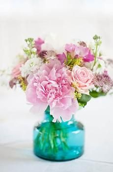 Pink and White Blooms