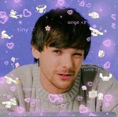 Louis Tomlinsom, Louis And Harry, App Background, Twitter Layouts, Aesthetic Indie, Louis Williams, Indie Kids, Larry Stylinson, Reaction Pictures