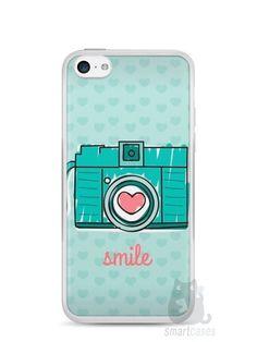 Capa Iphone 5C Câmera Fotográfica - SmartCases - Acessórios para celulares e tablets :) #Iphone5c
