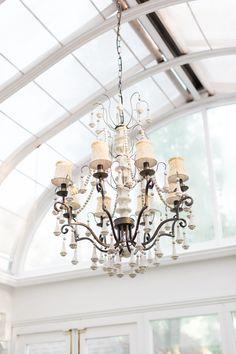 Greenhouse chandelier is Adan Gray.