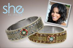 Sheree Whitfield  Sale ends today!  Well before reality TV cast its eye her way, she was out promoting style, health, and entrepreneurship - so of course we had to bring her your way. What we love: her affinity for big, bold pieces and heavy metals - worn with confidence and a killer outfit, of course.
