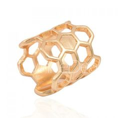 Solid Color Openwork Ring