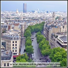 French Fridays - Exploring the Panthéon, Grande Arch and the view from the Arc de Triomphe - Mom Making Memories Making Memories, Paris Skyline, Arch, Explore, Mom, Travel, Longbow, Viajes, Destinations