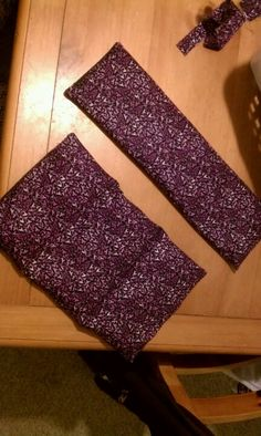 Lavender scented rice packs for neck and lower back.