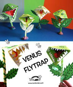 Paper Venus Flytrap