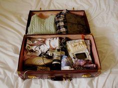 Ecco come preparare la valigia in modo perfetto per non dimenticare nulla a casa e avere con voi tutto l'occorrente in poco spazio