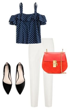 """NP"" by guestness on Polyvore featuring мода, MANGO, Chloé и J.Crew"