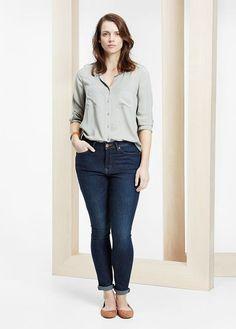 a35ff82a0d VIOLETA BY MANGO - Slim-fit Susan jeans  SS15