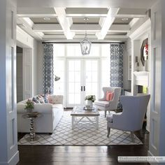 One Room Spring Tour - formal living room! - The Sunny Side Up Blog