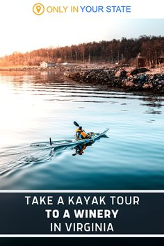 This unique day trip adventure in Virginia offers outdoor fun AND delicious wine. You'll take a guided kayak tour and end up at one of the best local wineries to sample their fare. How fun, and what a great date or girlfriend get together! Virginia Wineries, Kayak Tours, Outdoor Fun, Day Trip, The Great Outdoors, Kayaking, Vacations, Travelling, Travel Destinations