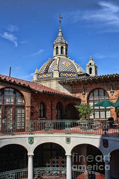The Mission Inn Photograph  - The Mission Inn Fine Art Print