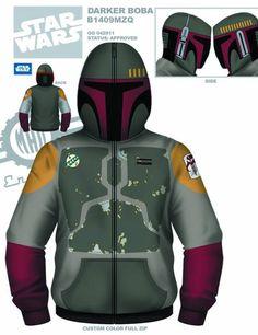 Star Wars zip up hoodies