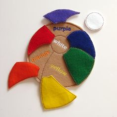 Kids Puzzle  Color Game   Felt Puzzles  Learning by AnnsCraftHouse, $9.00