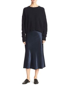 Skirt+&+Sweater+by+Vince+at+Neiman+Marcus.