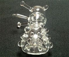 Doctor Who Dalek Glass Pipe http://www.thisiswhyimbroke.com/doctor-who-dalek-glass-pipe