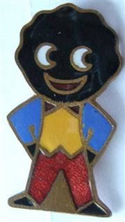 Robinson's Golliwog Badge.  Something else I collected & still have somewhere.