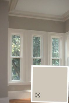 Described as the BEST paint color EVER!!!!   Benjamin Moore Revere Pewter...I'm thinking bedroom.