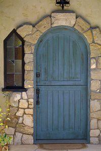 Craftsman Exterior cottage door