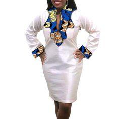 African Fashion Skirts, African Dress, Blazer Fashion, Suit Fashion, White Dresses For Women, Dresses For Work, Ladies White, Rajputi Dress, Clubwear Dresses