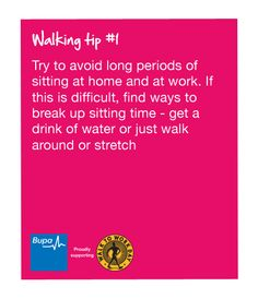Great #walking #tips from our colleagues @Beth Umansky Australia  For more details visit  http://www.hwtip.com/ http://radianthealthtips.com/  For more details visit  http://www.hwtip.com/ http://radianthealthtips.com/