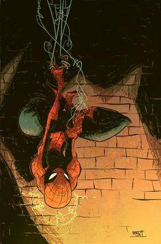 Spider-man, by Skottie Young.