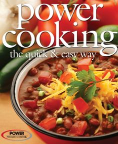 Power Cooker Pro XL Electric Pressure Cooker Recipe Cookbook | hip pressure cooking