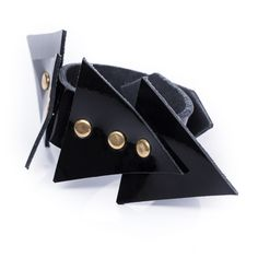Triangle karkötő No. Triangle, Cufflinks, Accessories, Fashion, Moda, Fashion Styles, Wedding Cufflinks, Fashion Illustrations