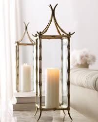 """Shop """"Pagoda"""" Hurricane from Arteriors at Horchow, where you'll find new lower shipping on hundreds of home furnishings and gifts. Hurricane Lanterns, Candle Lanterns, Candle Sconces, Asian Home Decor, Chinoiserie Chic, Home Decor Accessories, Home Accents, Candlesticks, Floor Lamp"""