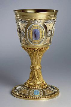 Chalice of Saint Petersburg. Commissioned by the Empress Catalina la Grande, 18th-century for the Cathedral of the Holy Trinity of St. Petersburg