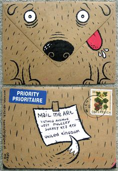 adorable. I love this envelope.