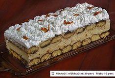 Karamellás-krémsajtos piskóta SN! Hungarian Cake, Hungarian Recipes, Hungarian Food, Sweet Cookies, Cake Cookies, Sweet Recipes, Cake Recipes, Ital Food, Non Plus Ultra