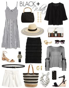 There is something so effortlessly chic about a simple black & white combination. Even though I made a resolution to embrace more color th...
